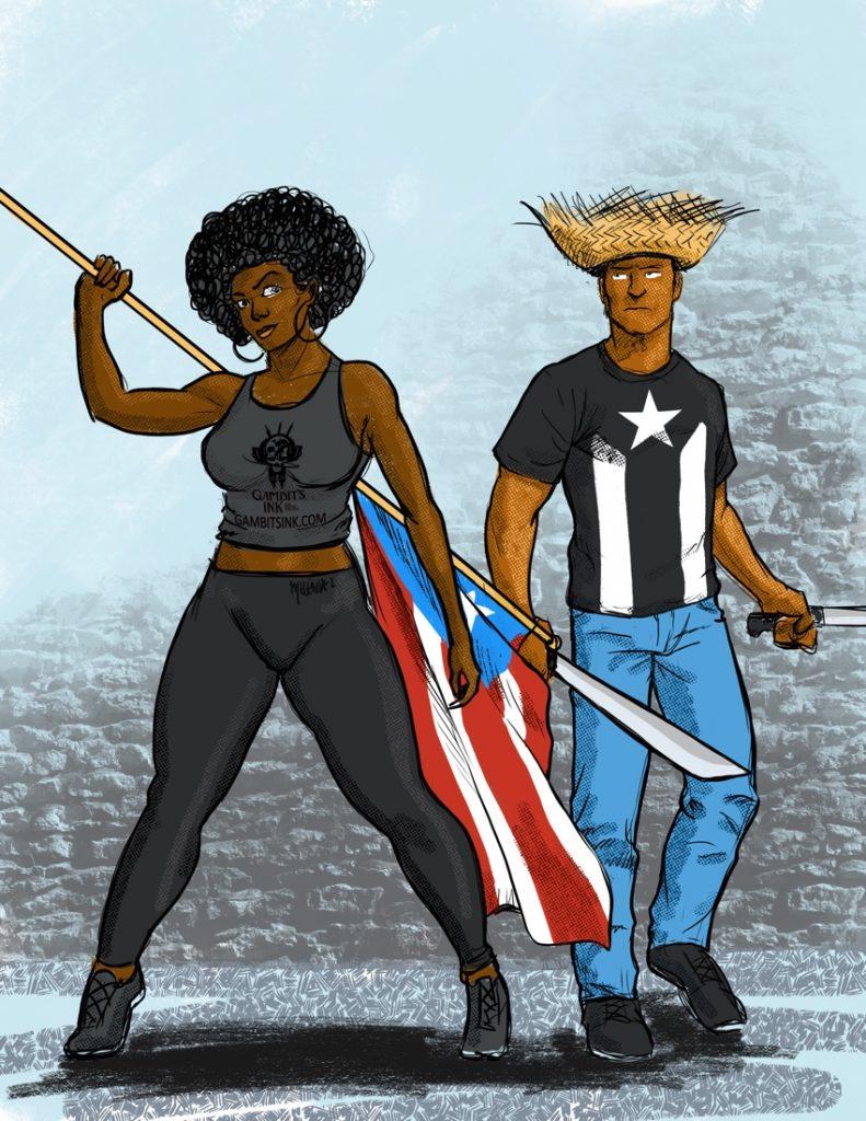 We Are Puertorricans.