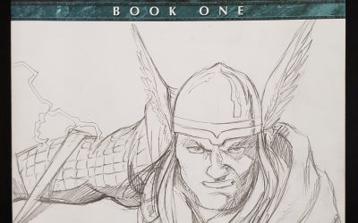 Fear Itself book one sketch cover.
