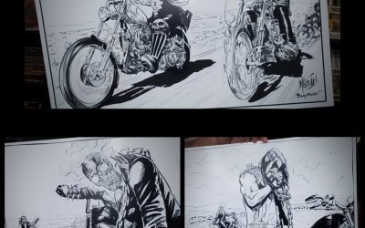Easy Riders Print set