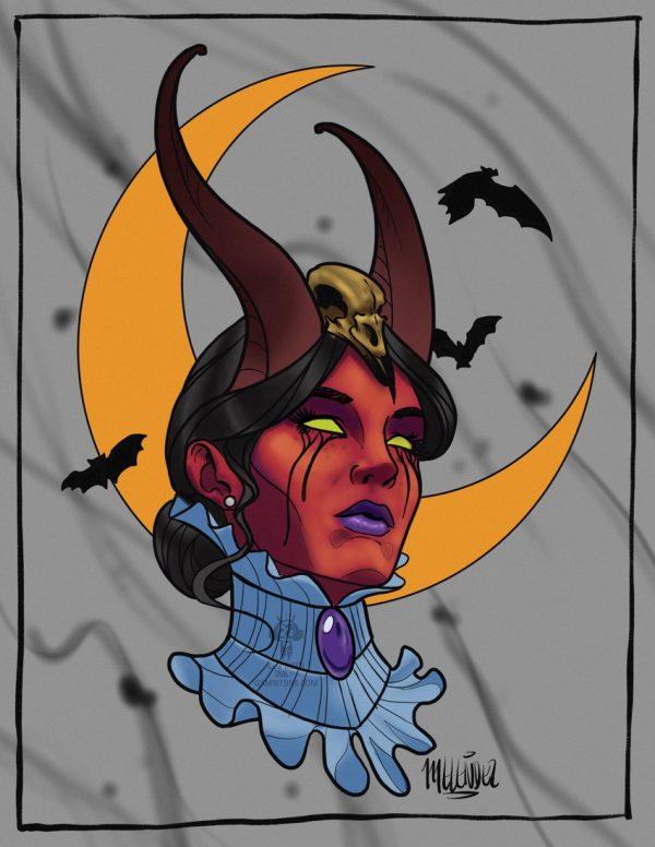 Demon Madame Minerva